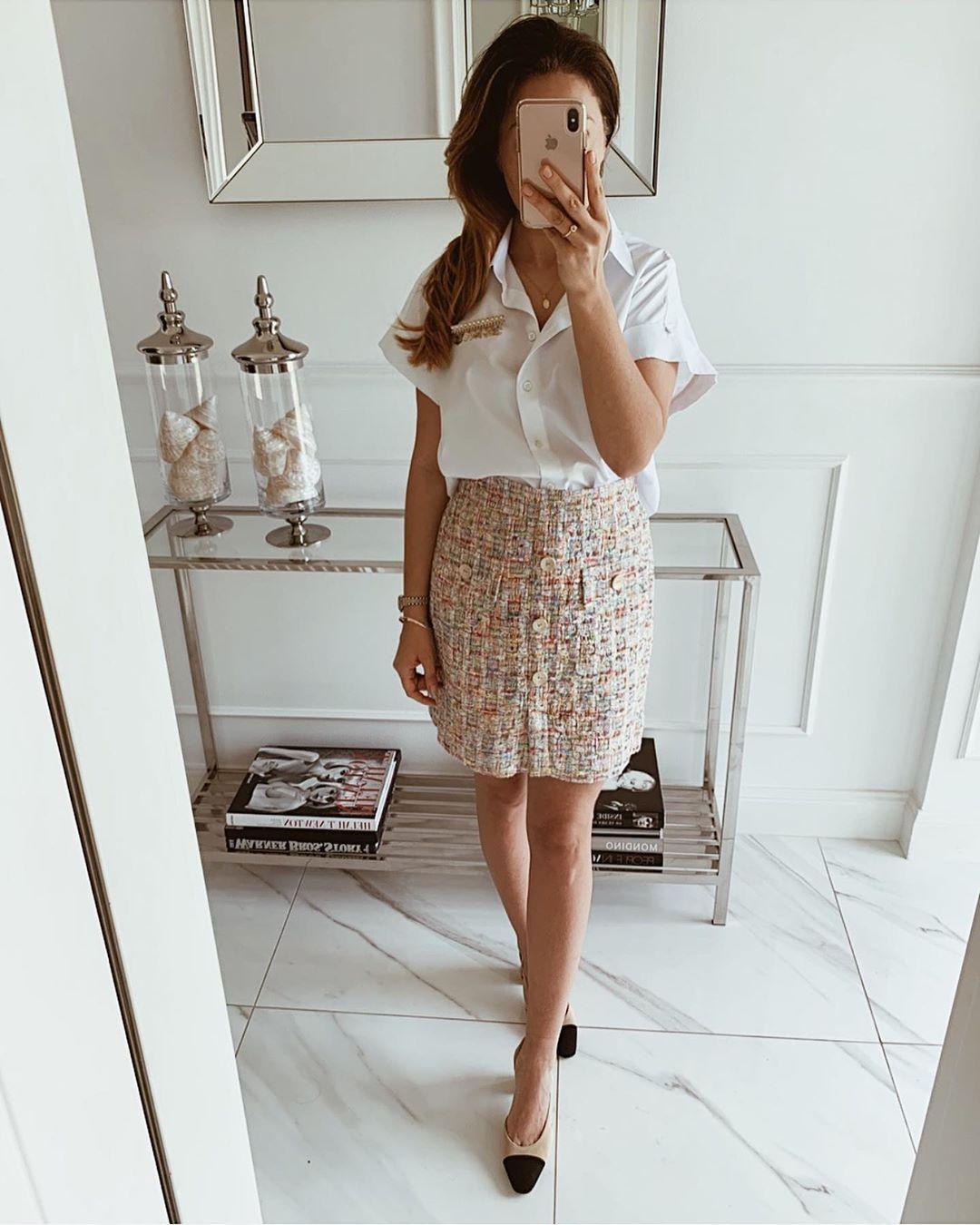 модный летние образы для деловых женщин фото 12