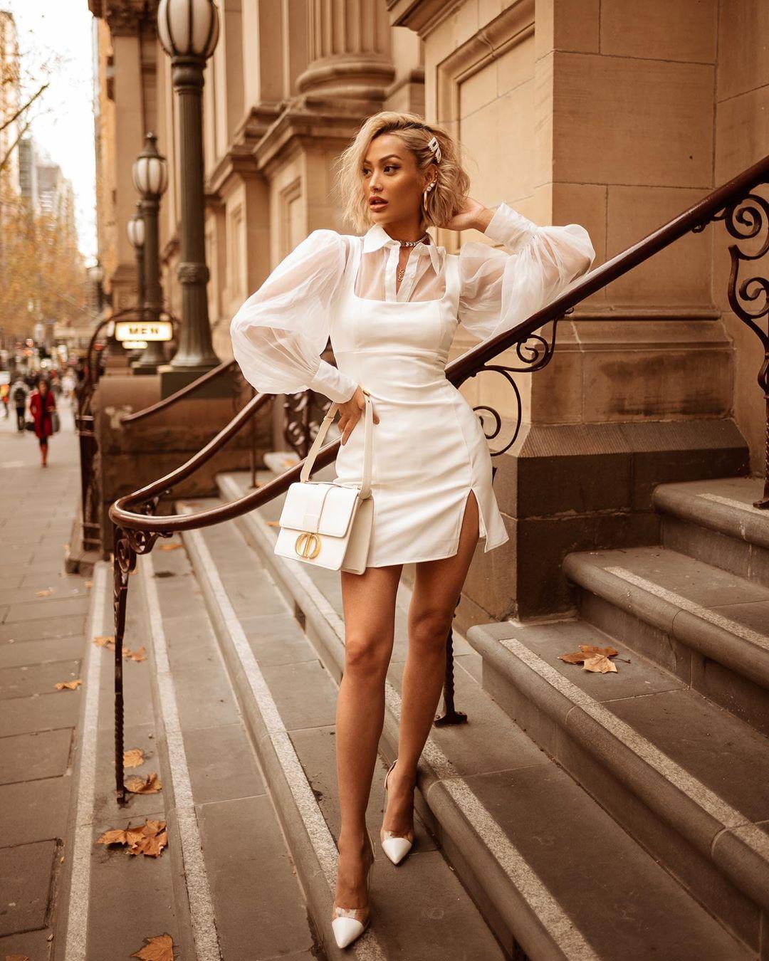 белое платье фото 16