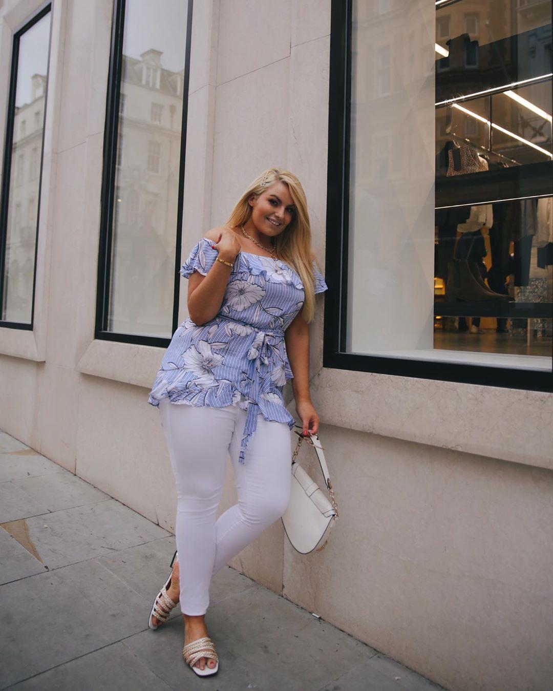 с чем носить тунику летом полным женщинам фото 8
