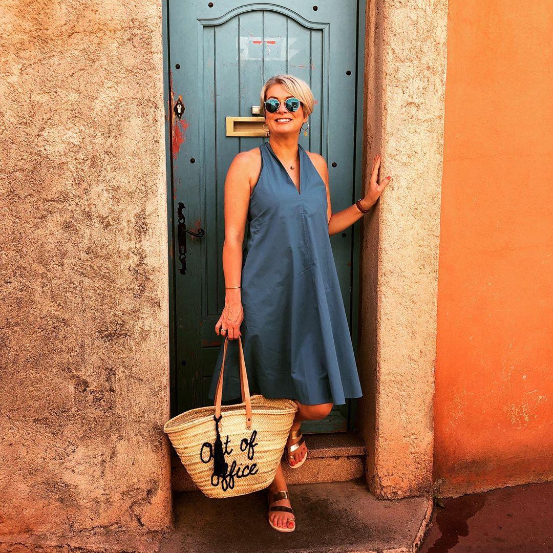 с чем носить платье летом женщинам после 40-50 лет фото 6