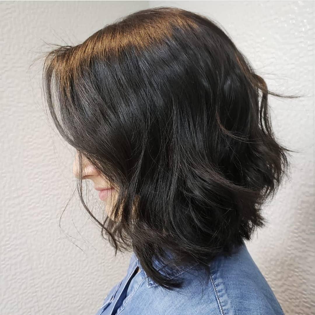 прически для черных волос фото 6