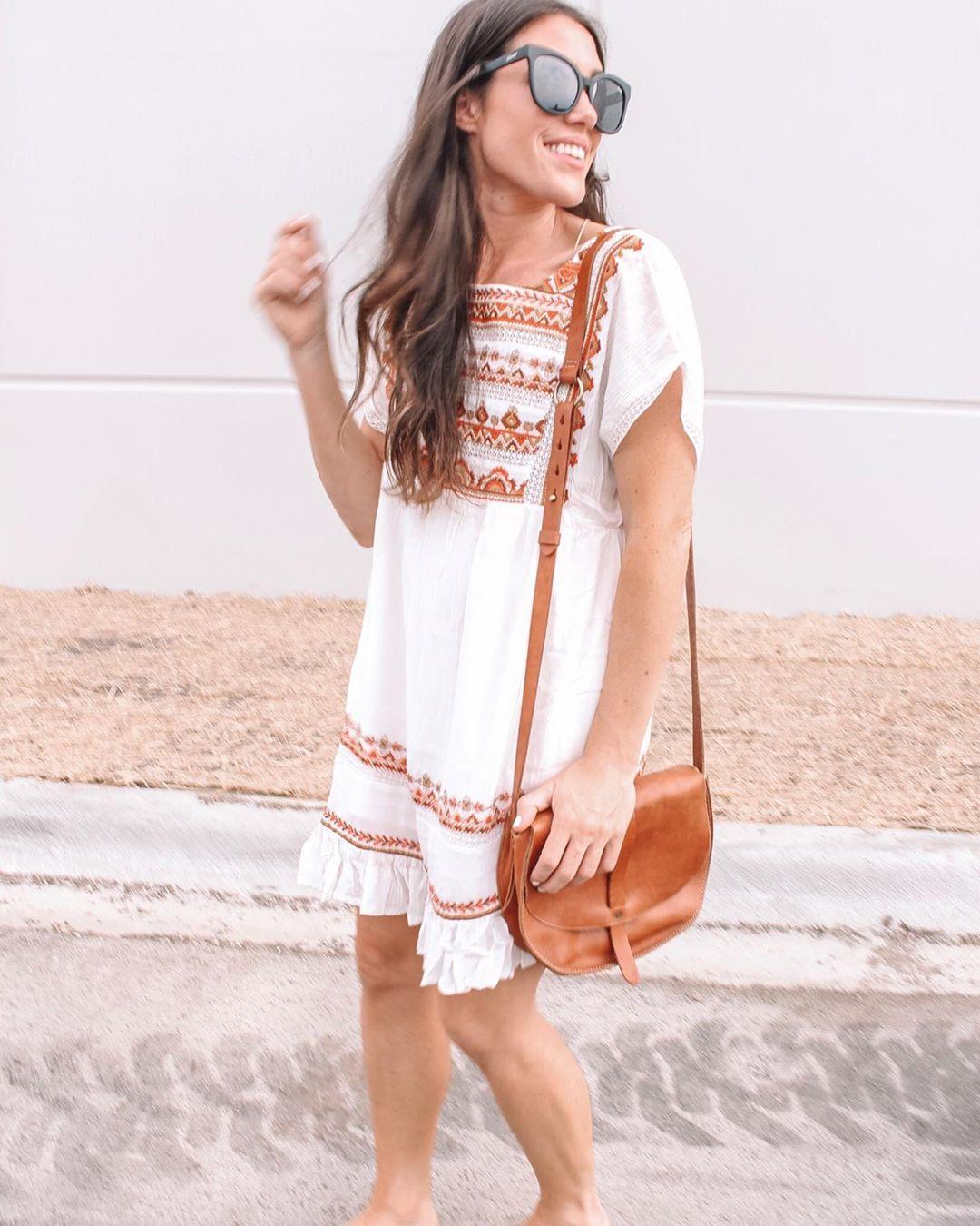 платье бохо фото 4