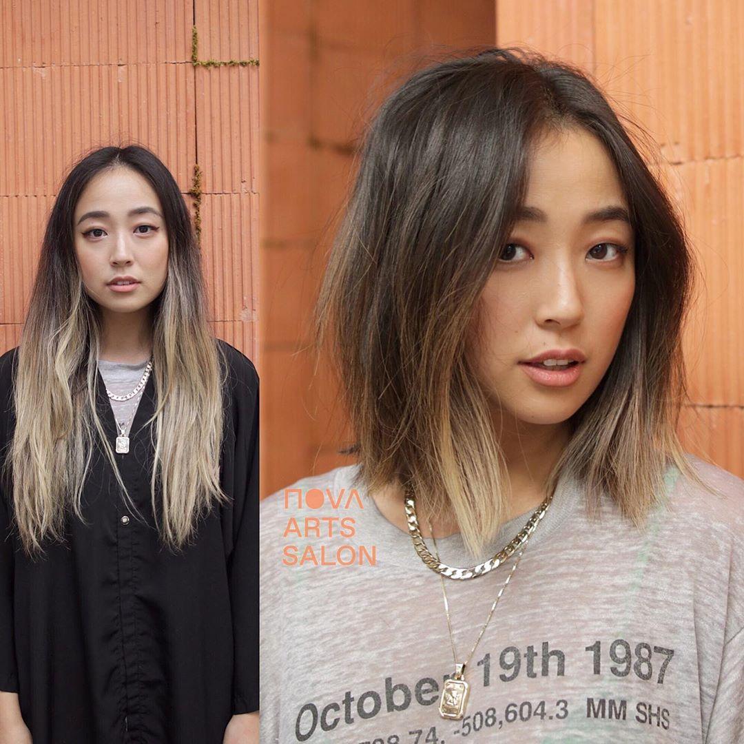 стрижки средней длины для тонких волос фото 2