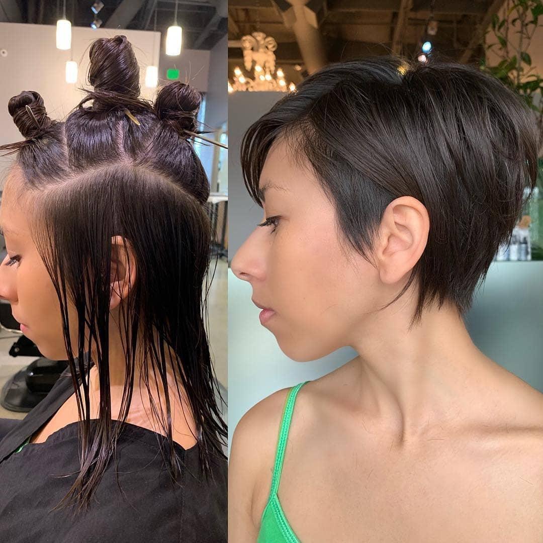 стрижки для женщин с тонкими волосами фото 5