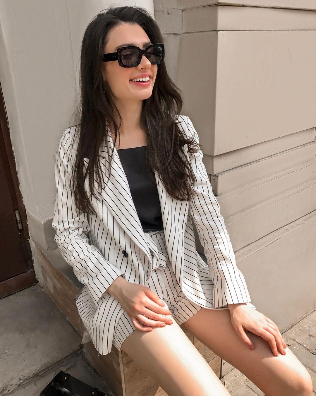 модный летние образы для деловых женщин фото 8