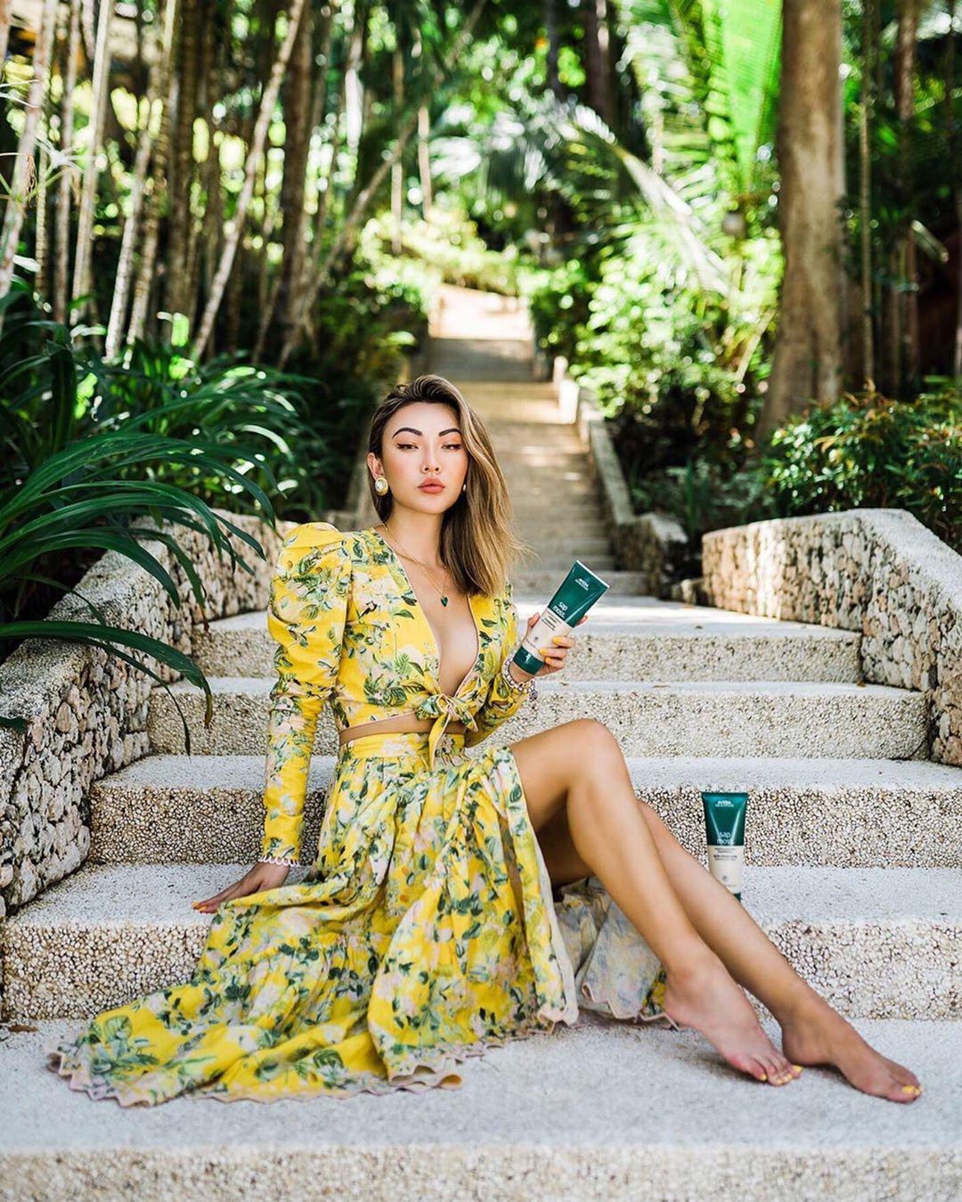 модный летние образы в желтом цвете фото 15