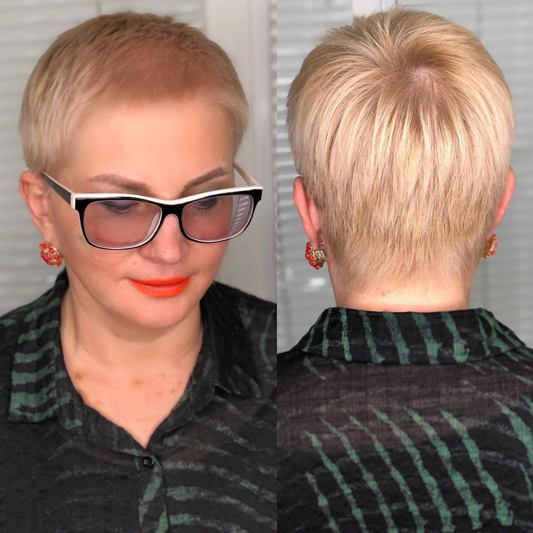 стрижки для женщин после 50 фото 10