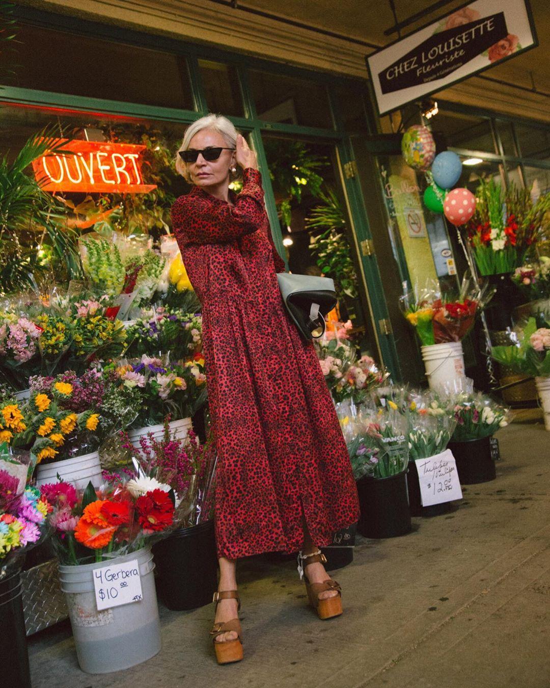 платье для женщины 60 лет фото 11