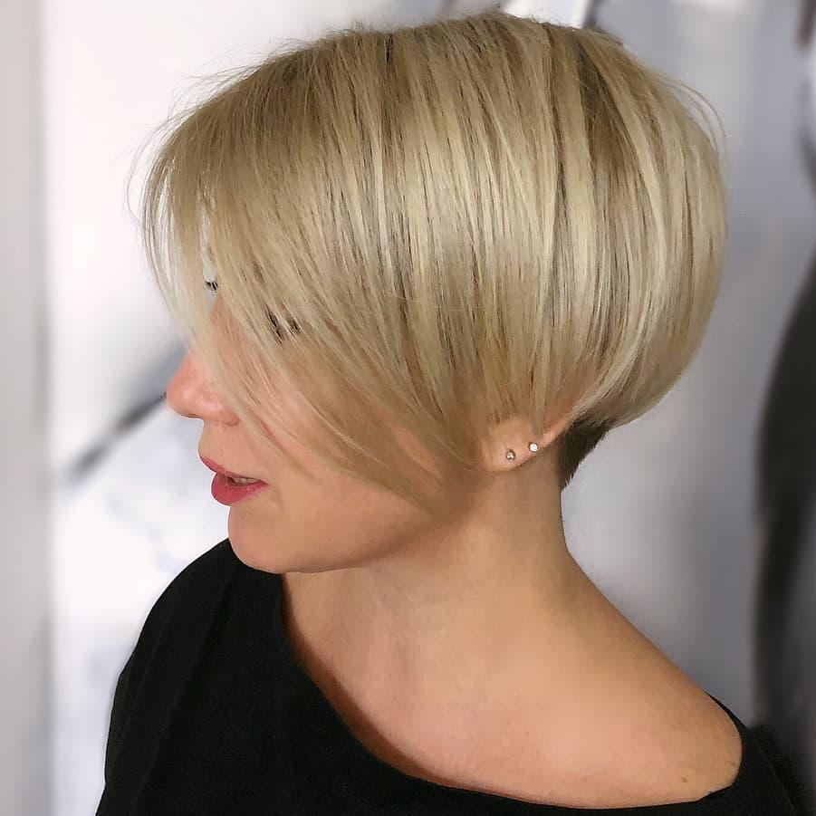 стрижки для женщин с тонкими волосами фото 7