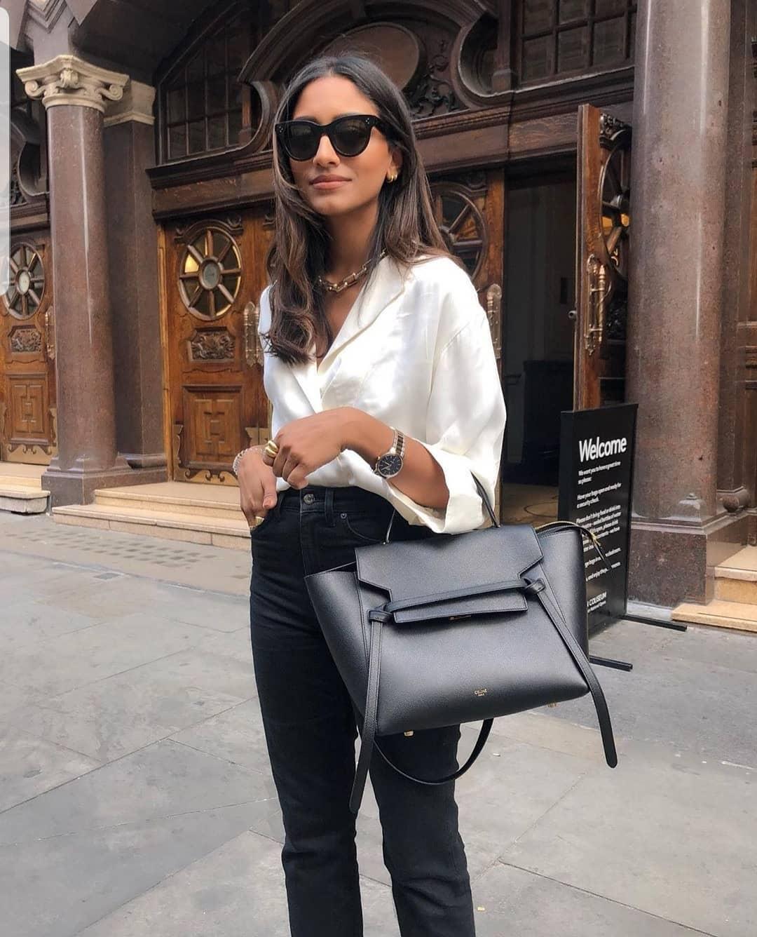 Черные джинсы фото 14