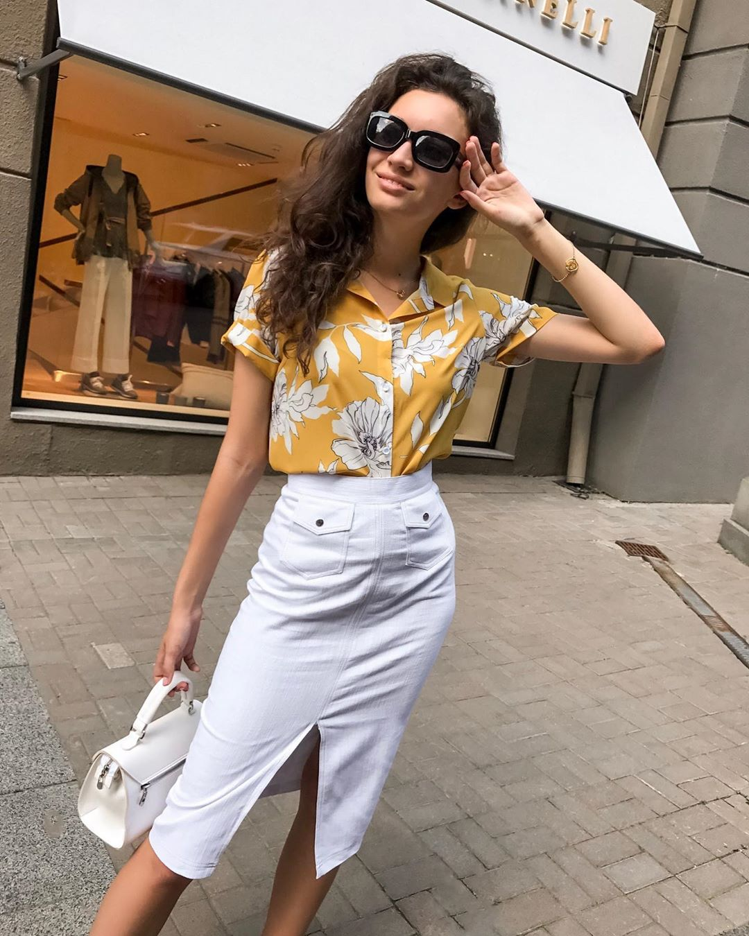 модный летние образы для деловых женщин фото 10