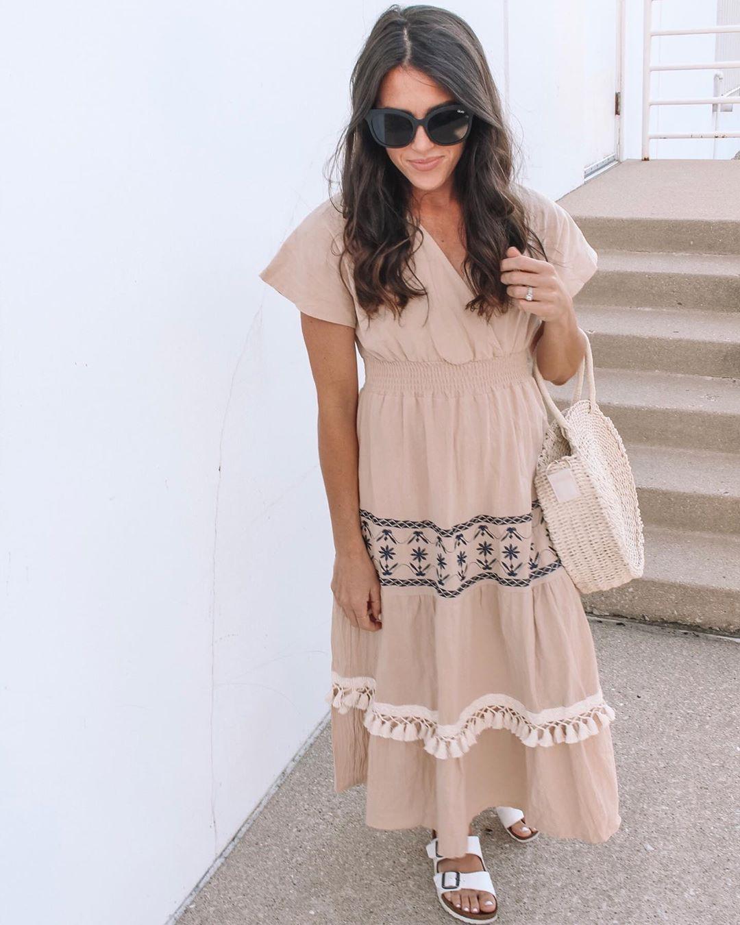 платье бохо фото 5