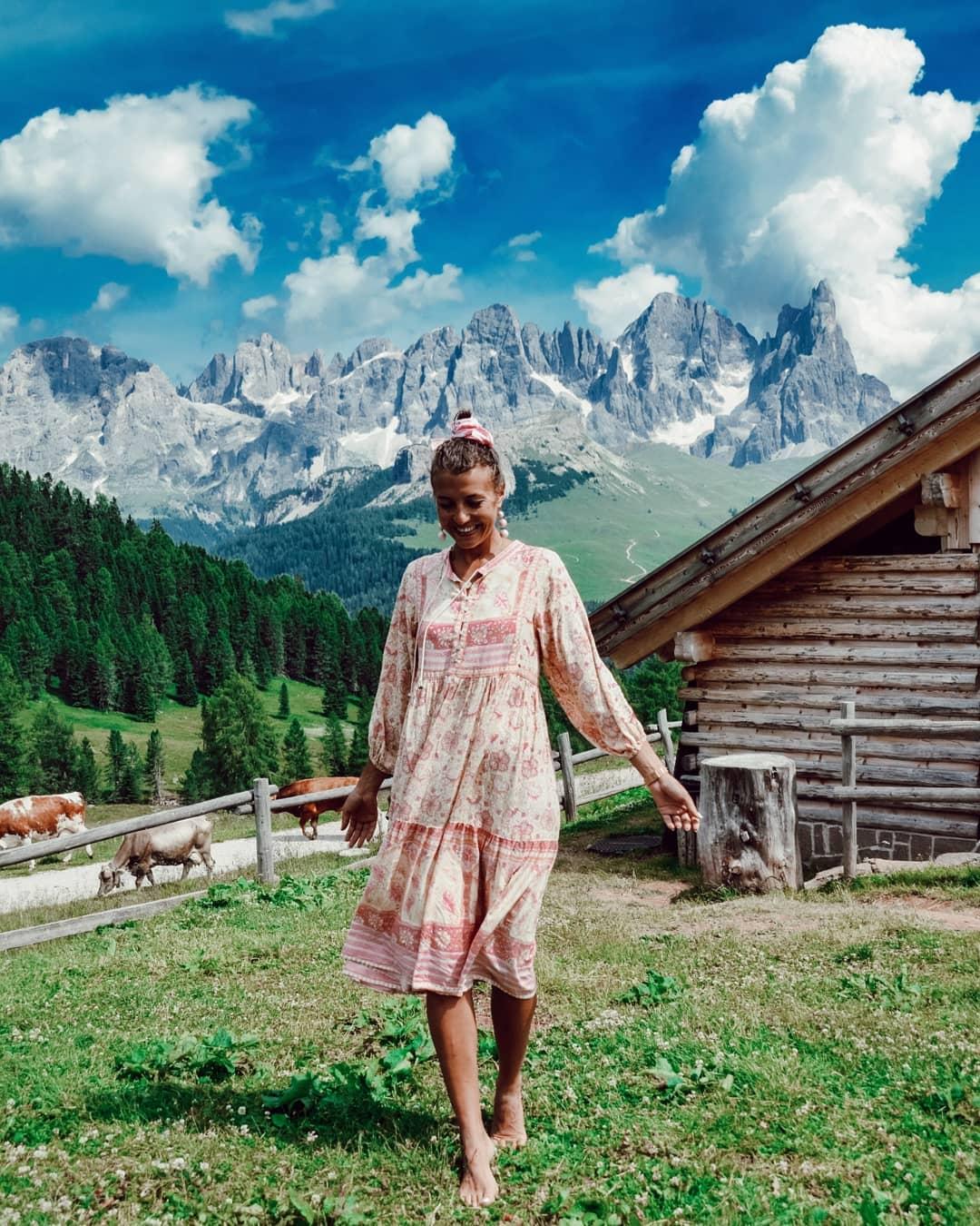платье бохо фото 10