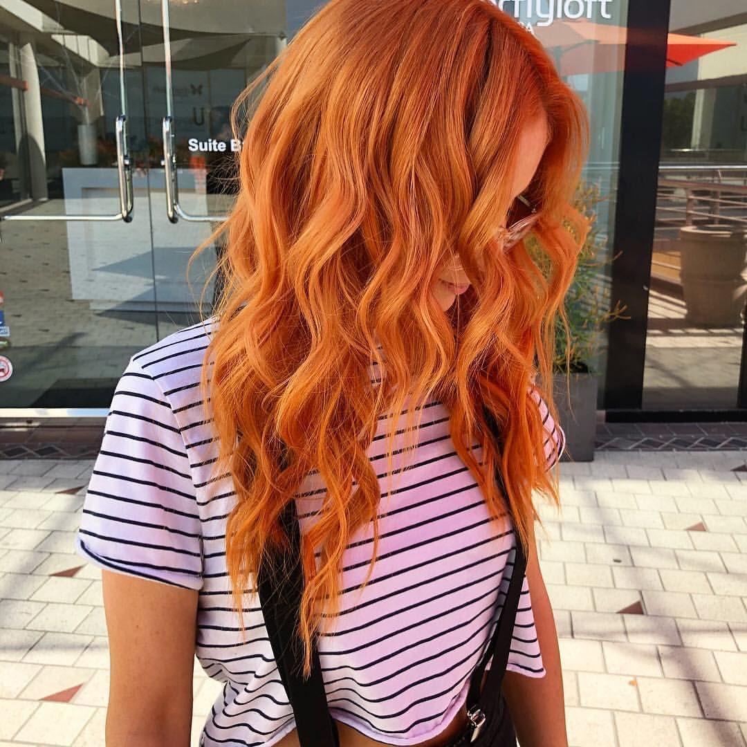 оттенки рыжих волос фото 4