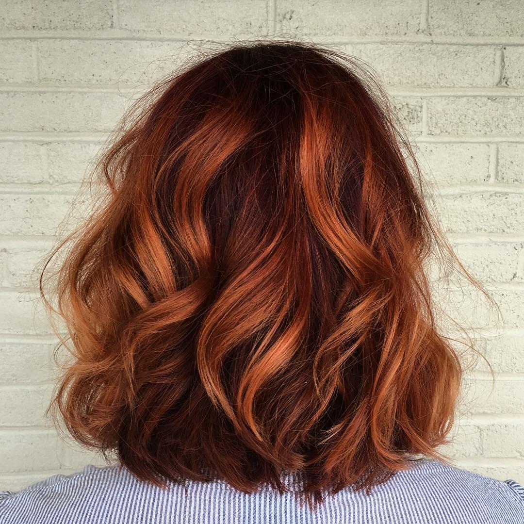оттенки рыжих волос фото 11