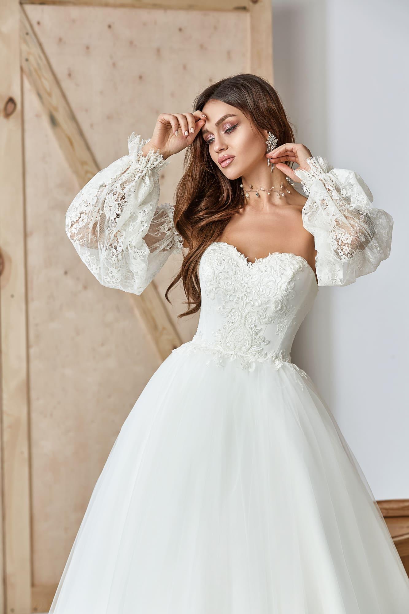 пышные свадебные платья фото 43