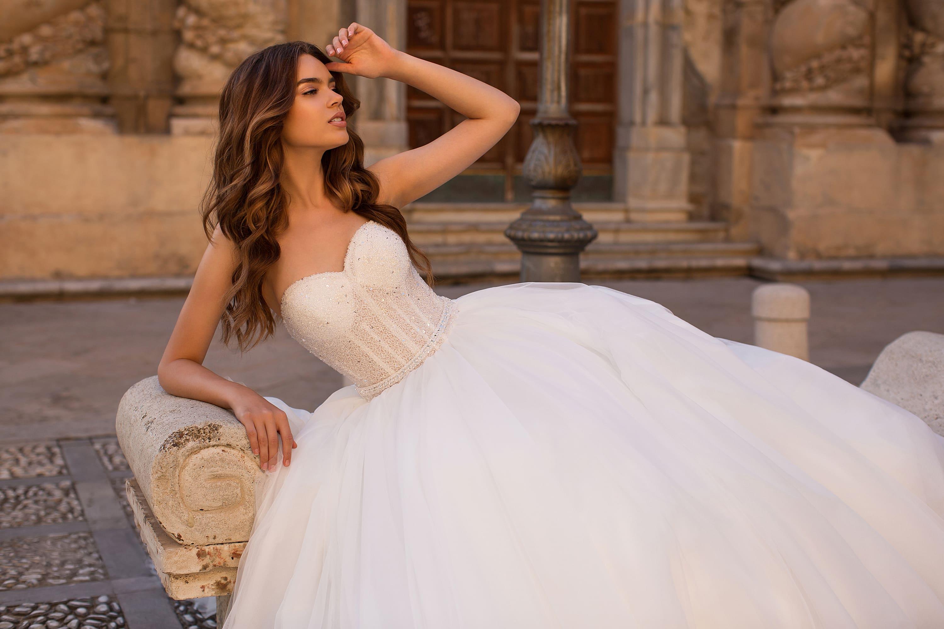 пышные свадебные платья фото 21