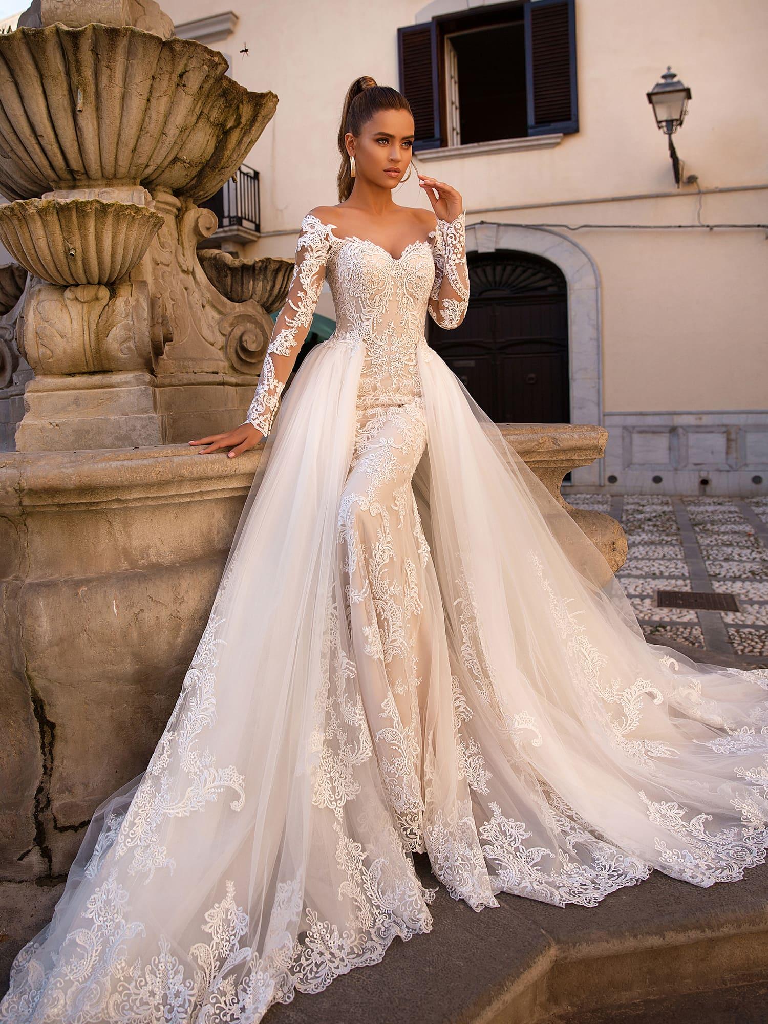 Свадебные платья лето 2019 фото 5