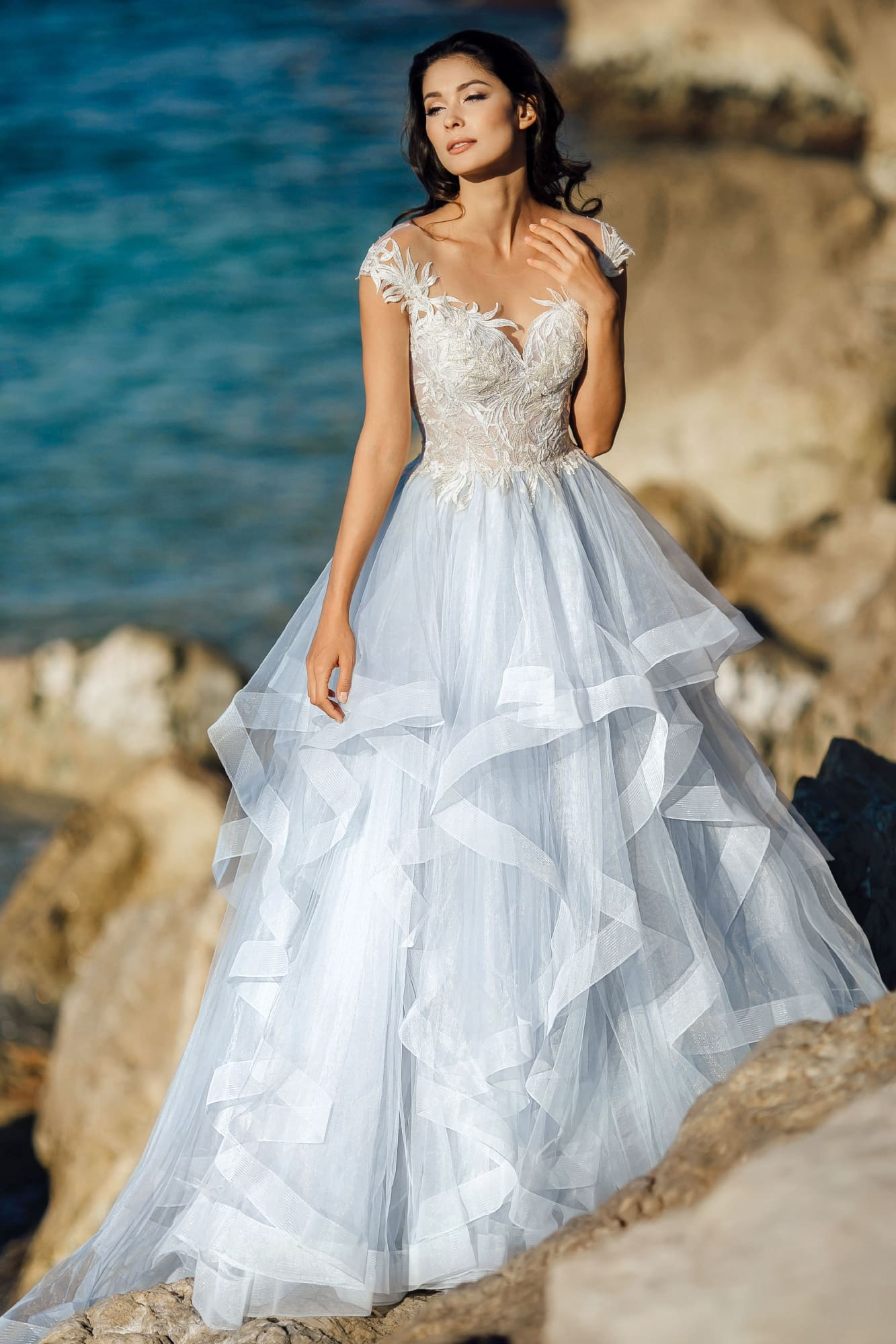 пышные свадебные платья фото 32