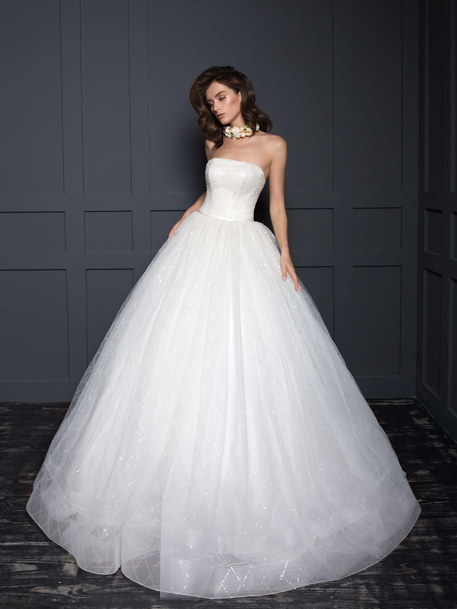 пышные свадебные платья фото 1