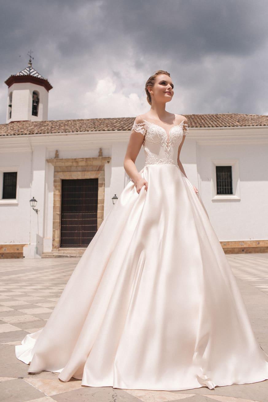 пышные свадебные платья фото 4