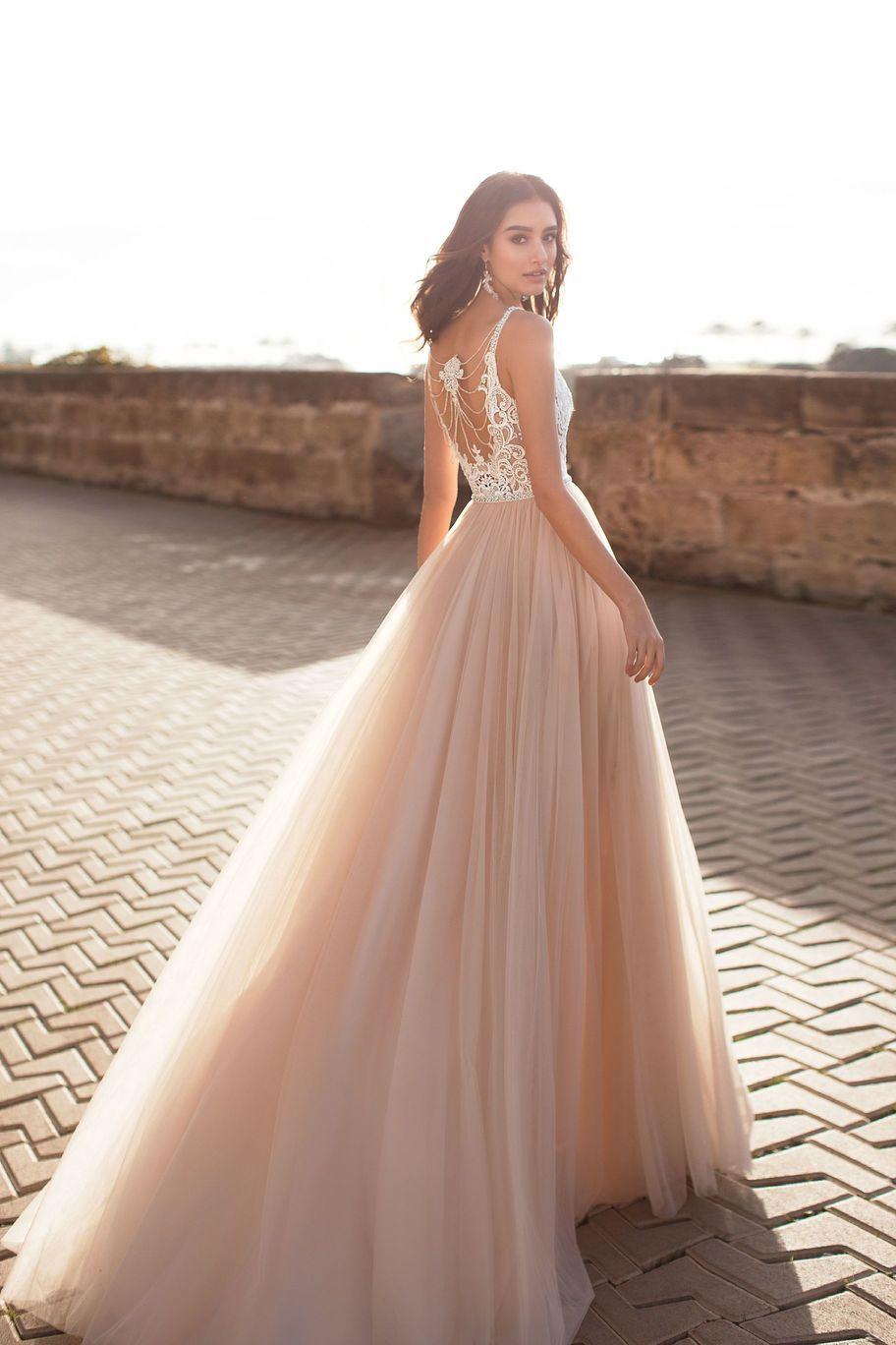 Свадебные платья лето 2019 фото 11