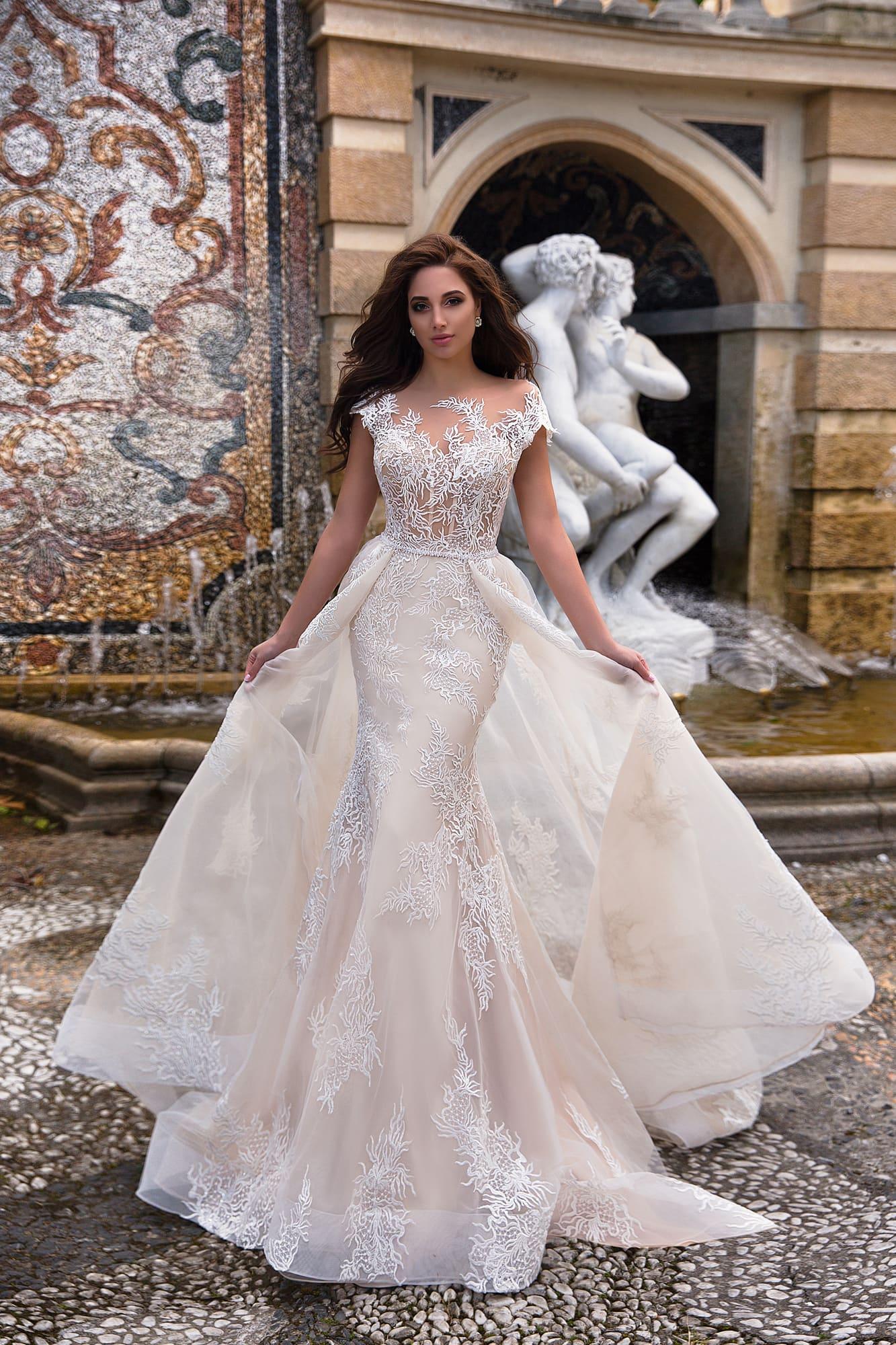 Свадебные платья лето 2019 фото 6