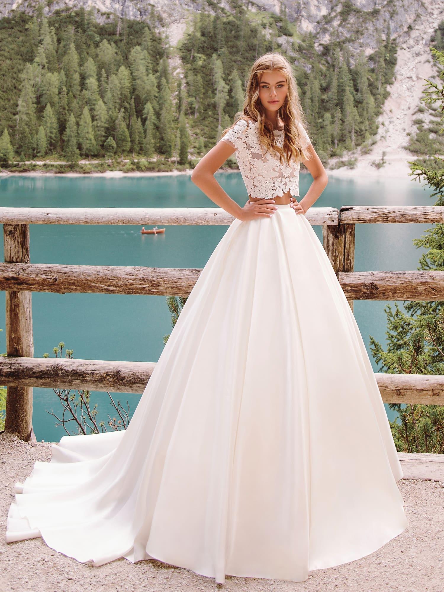 пышные свадебные платья фото 46