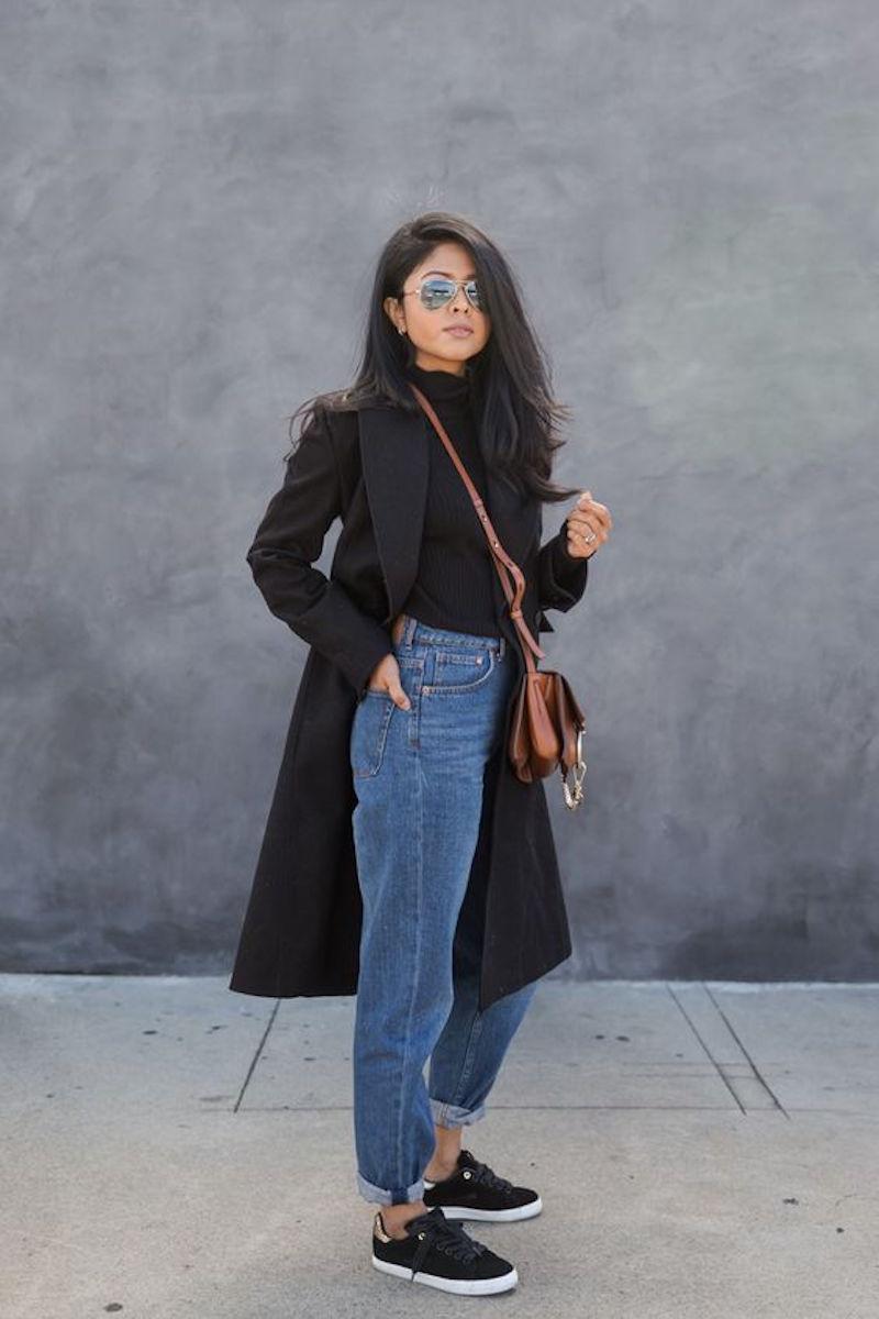 водолазка с джинсами фото 5