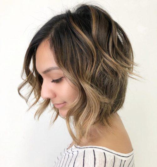 стрижки средней длины для тонких волос фото 6