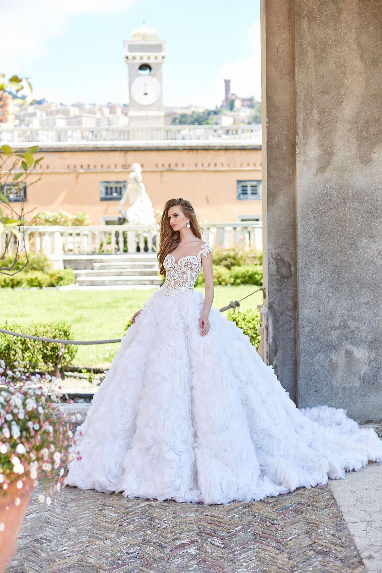 пышные свадебные платья фото 47