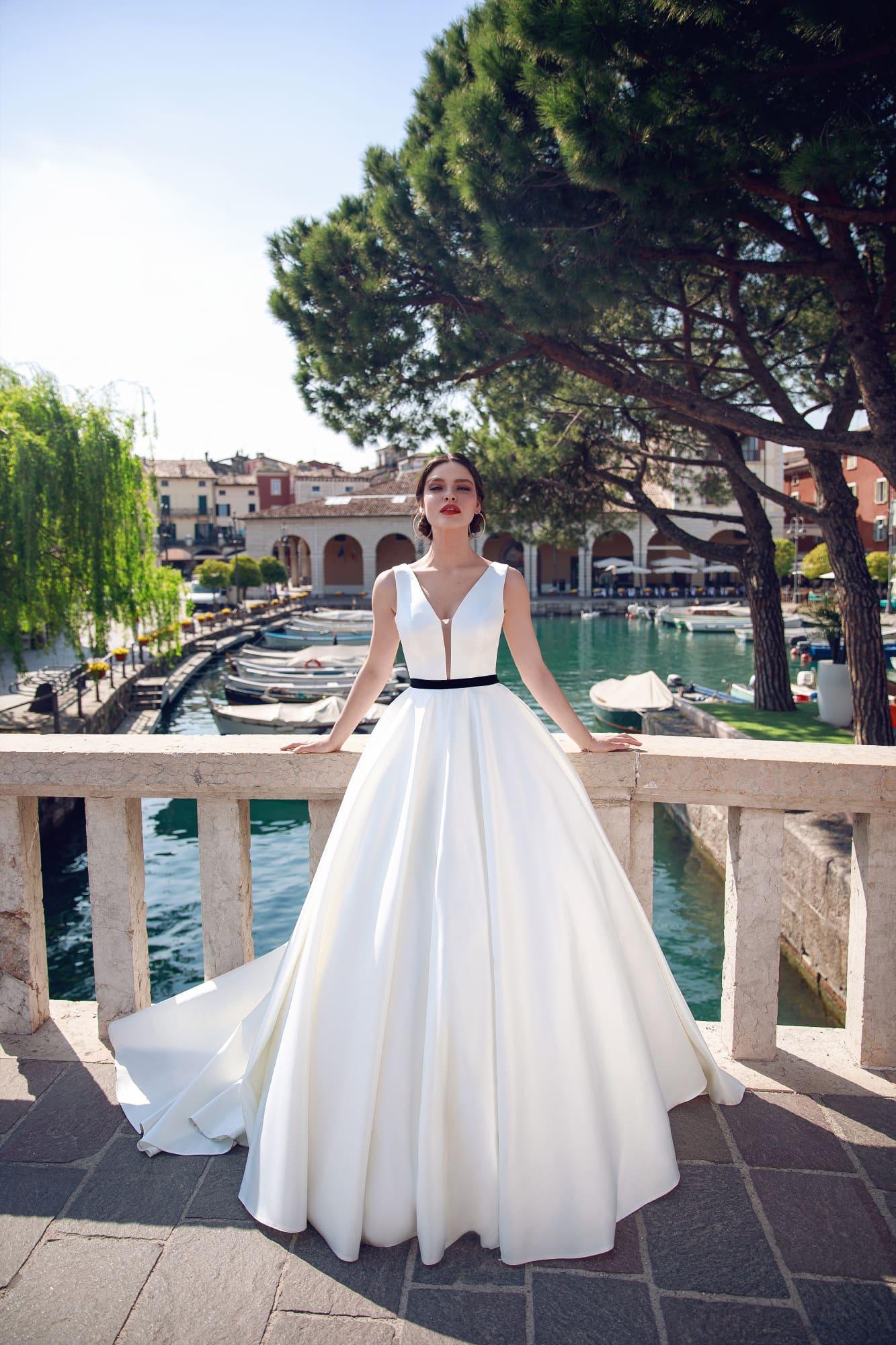 пышные свадебные платья фото 28