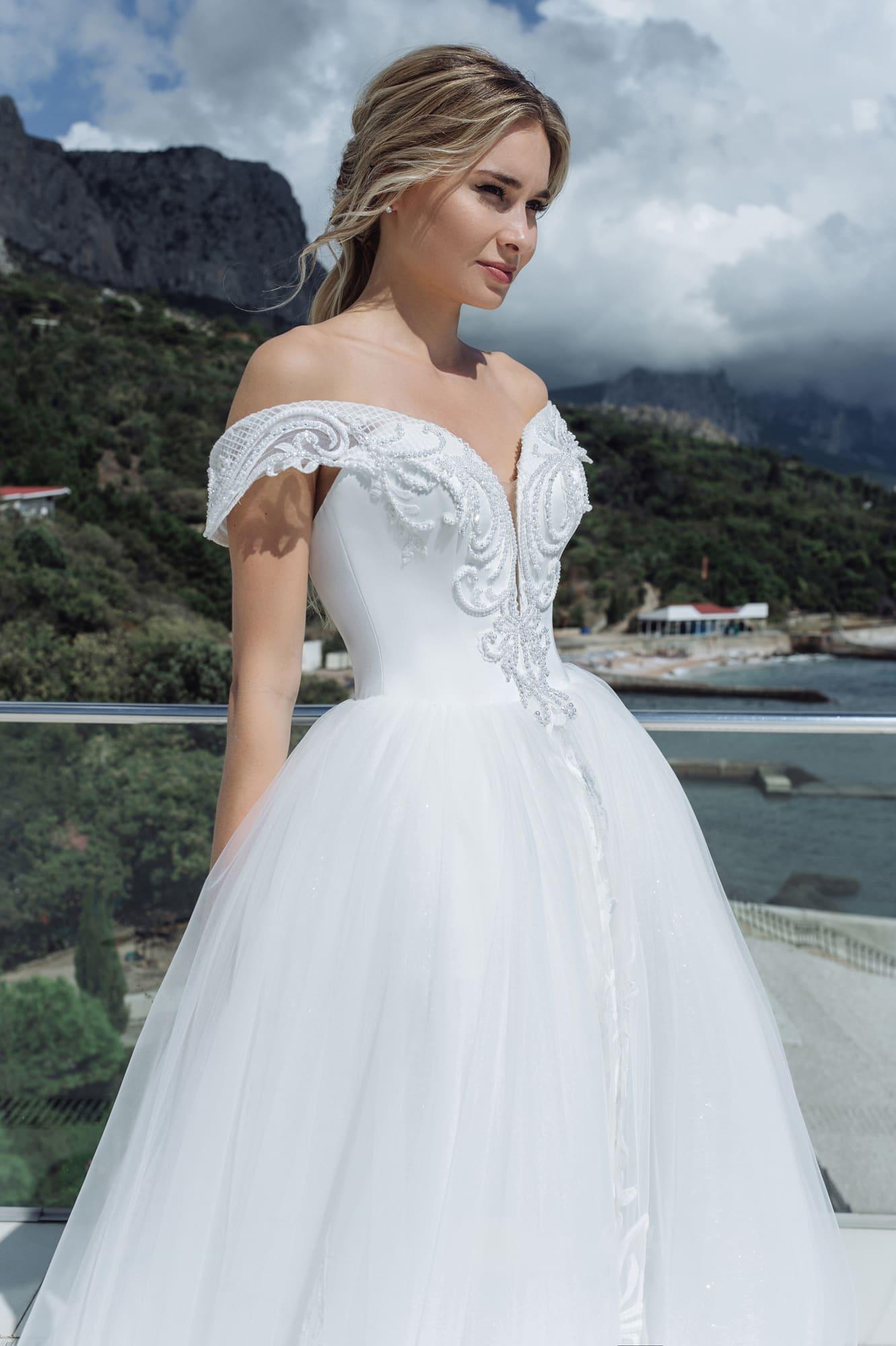 пышные свадебные платья фото 35