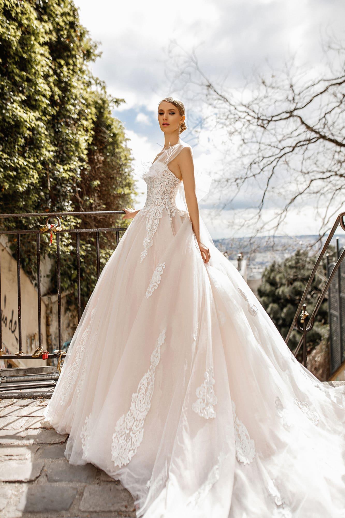 пышные свадебные платья фото 20