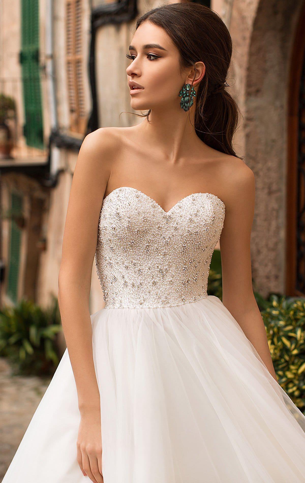 пышные свадебные платья фото 22