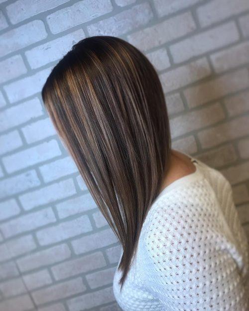 стрижки средней длины для тонких волос фото 8