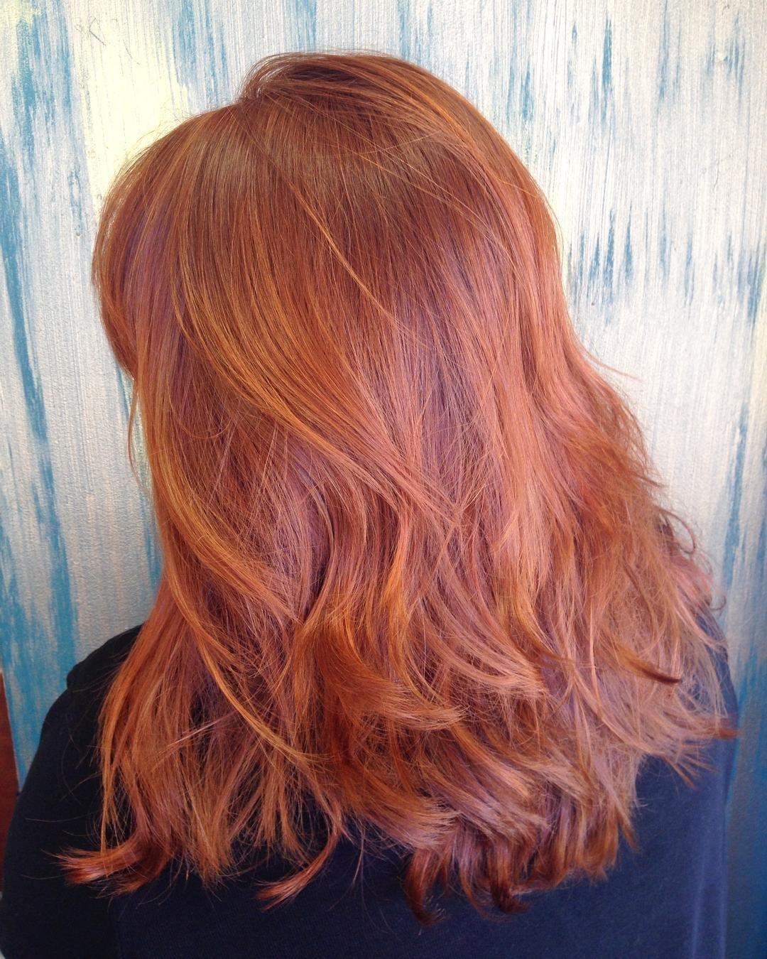 оттенки рыжих волос фото 2