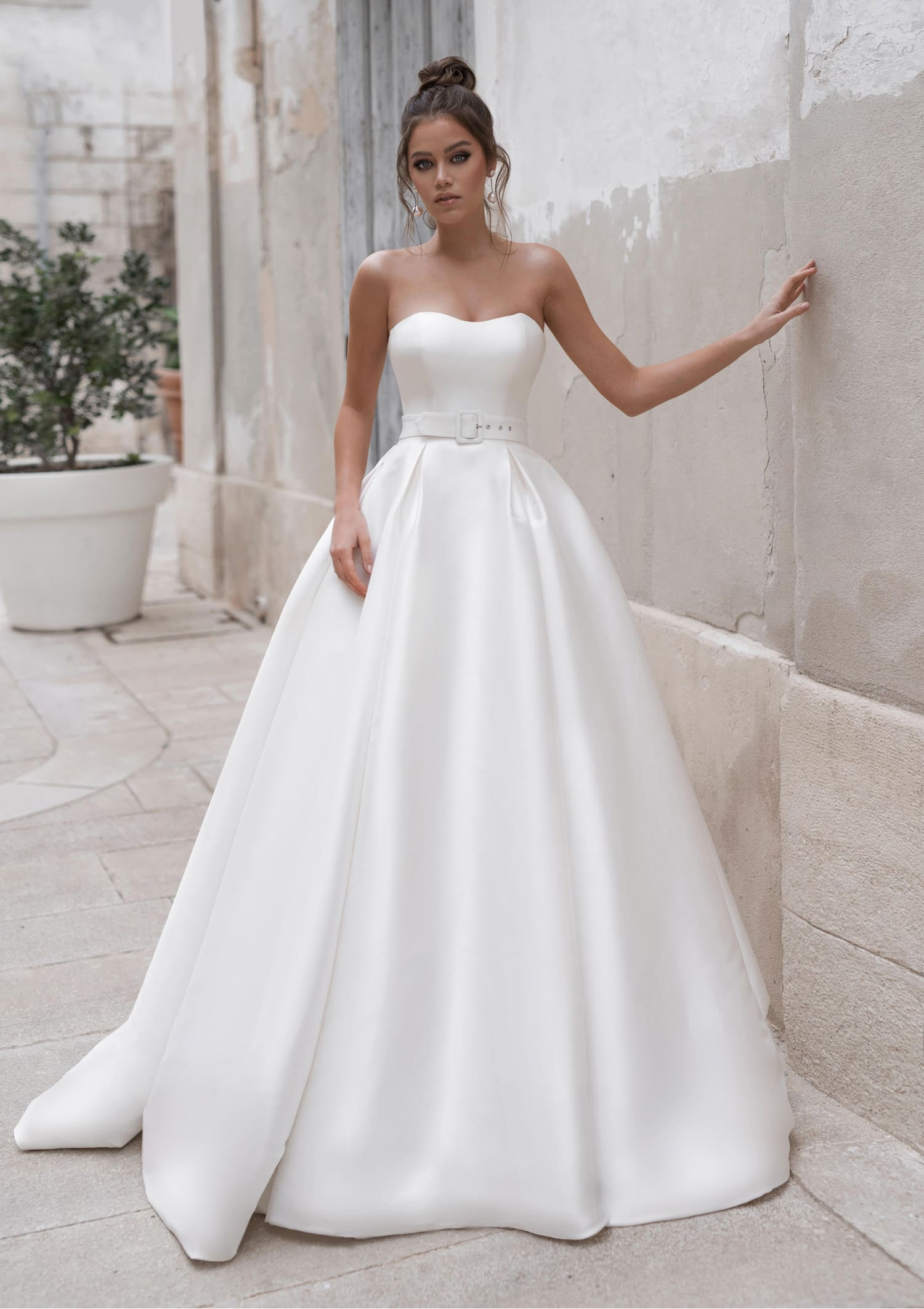 пышные свадебные платья фото 23