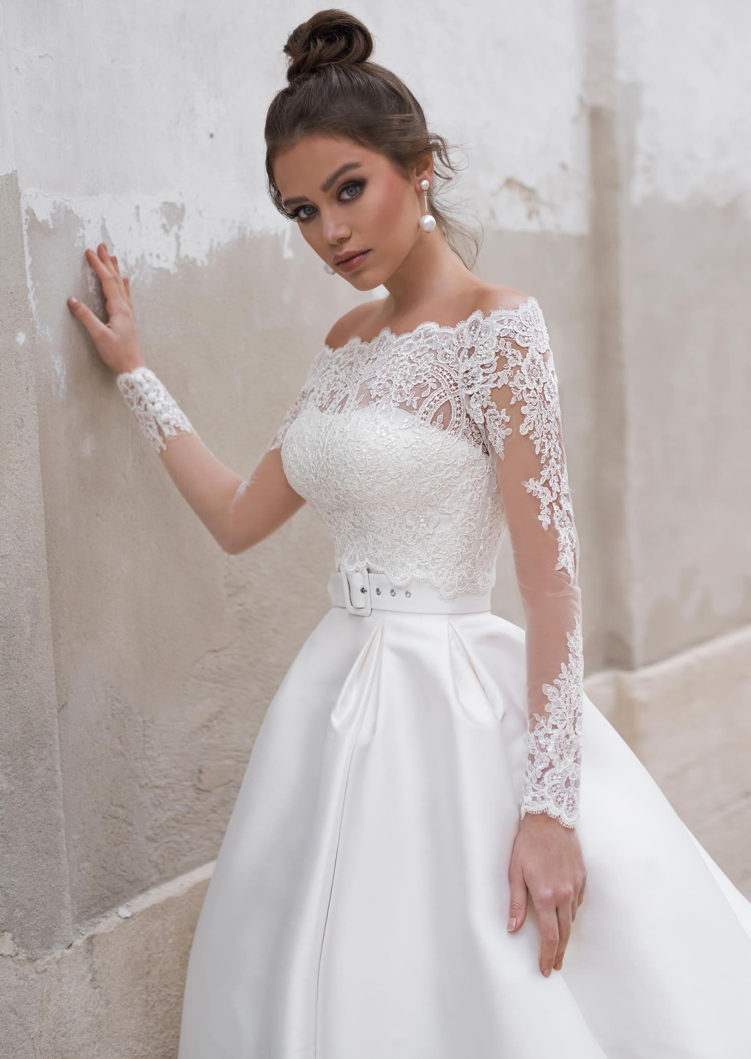 пышные свадебные платья фото 25