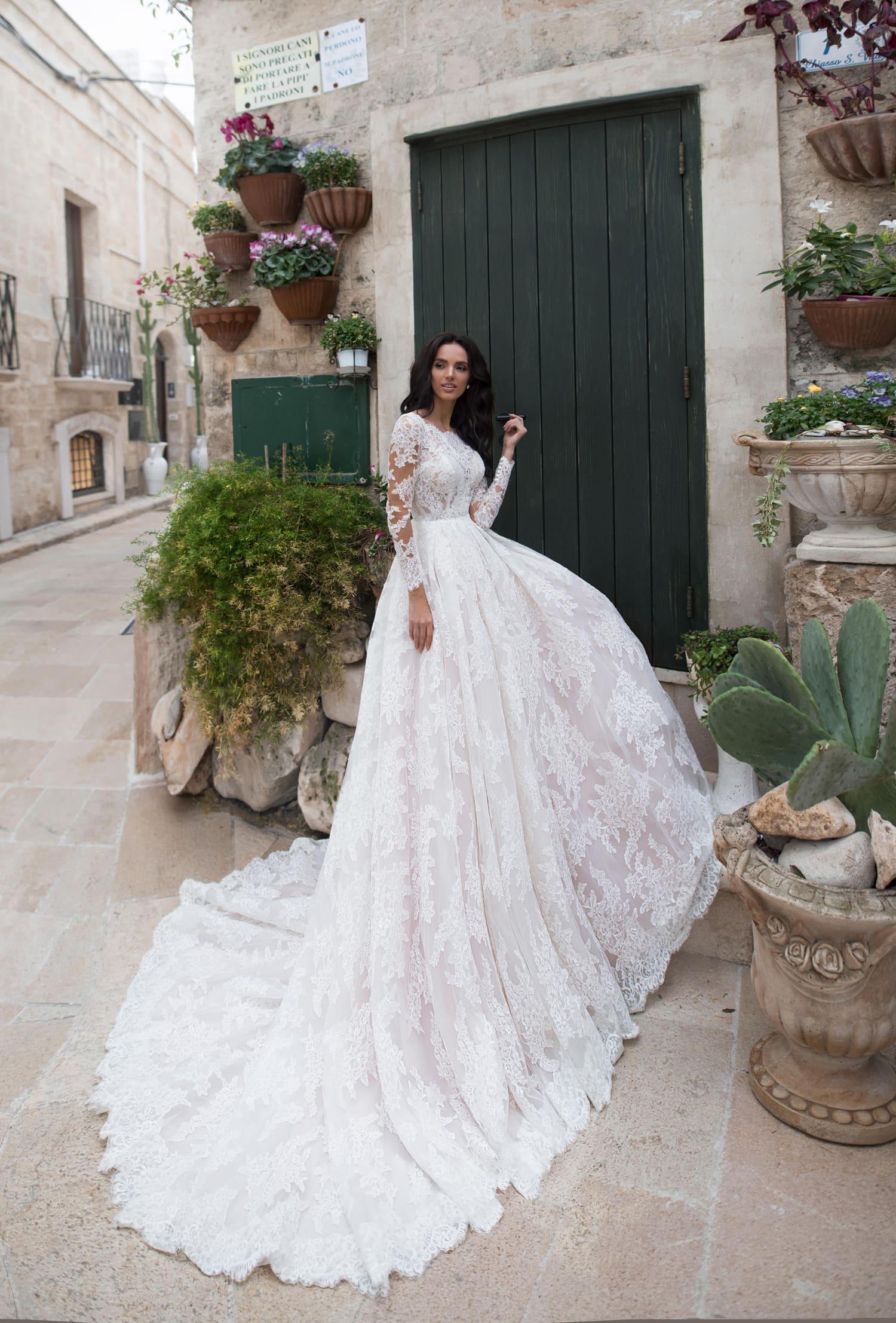пышные свадебные платья фото 33