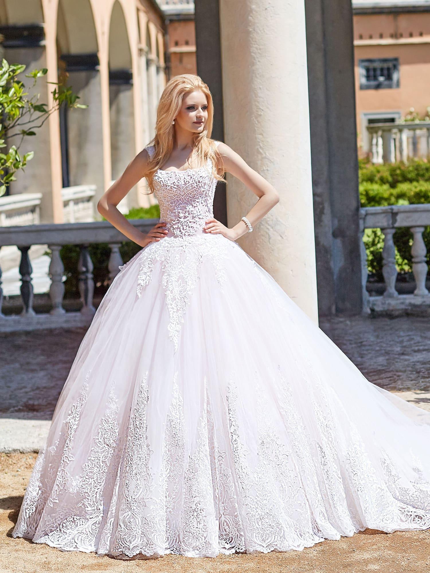 пышные свадебные платья фото 34