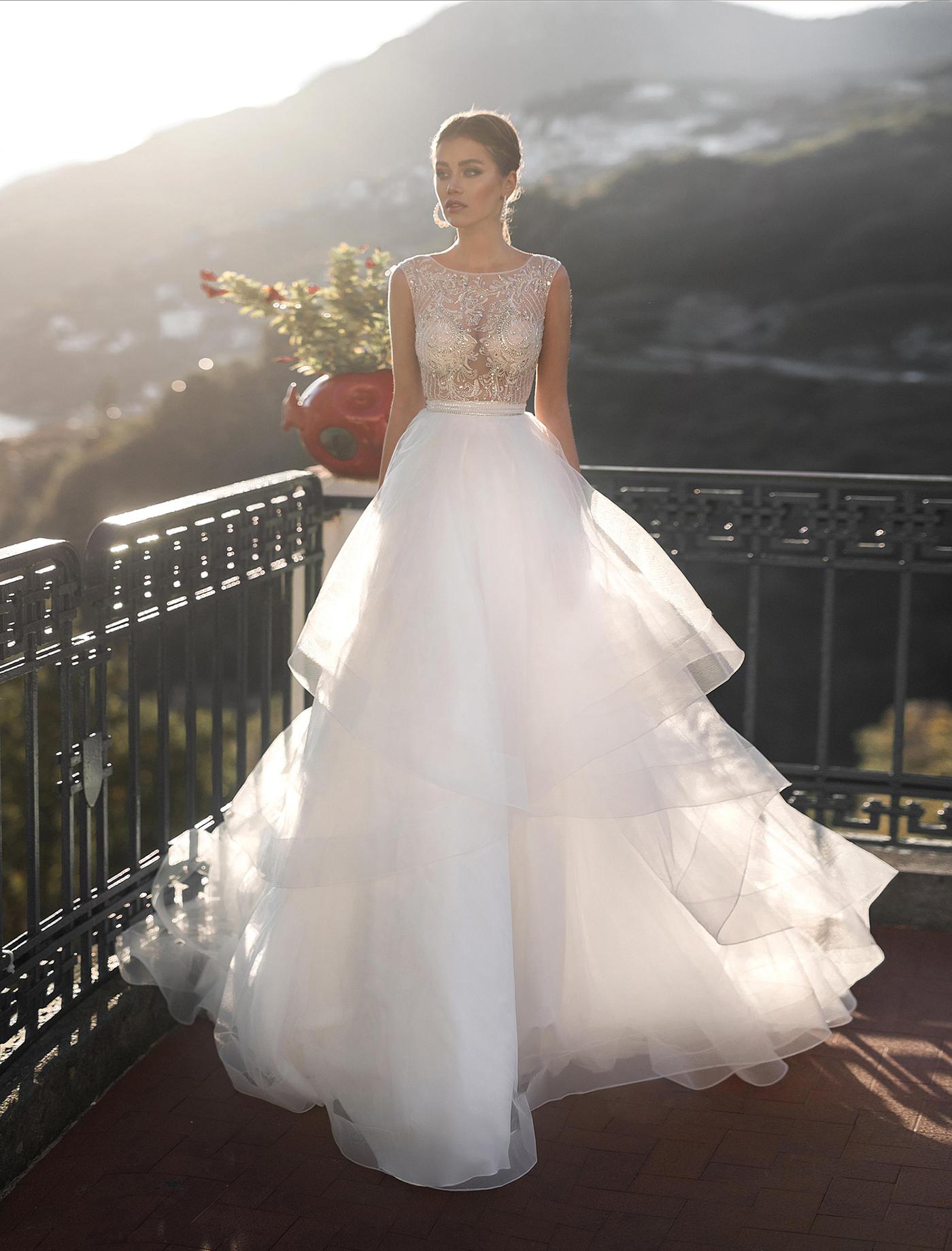 пышные свадебные платья фото 41