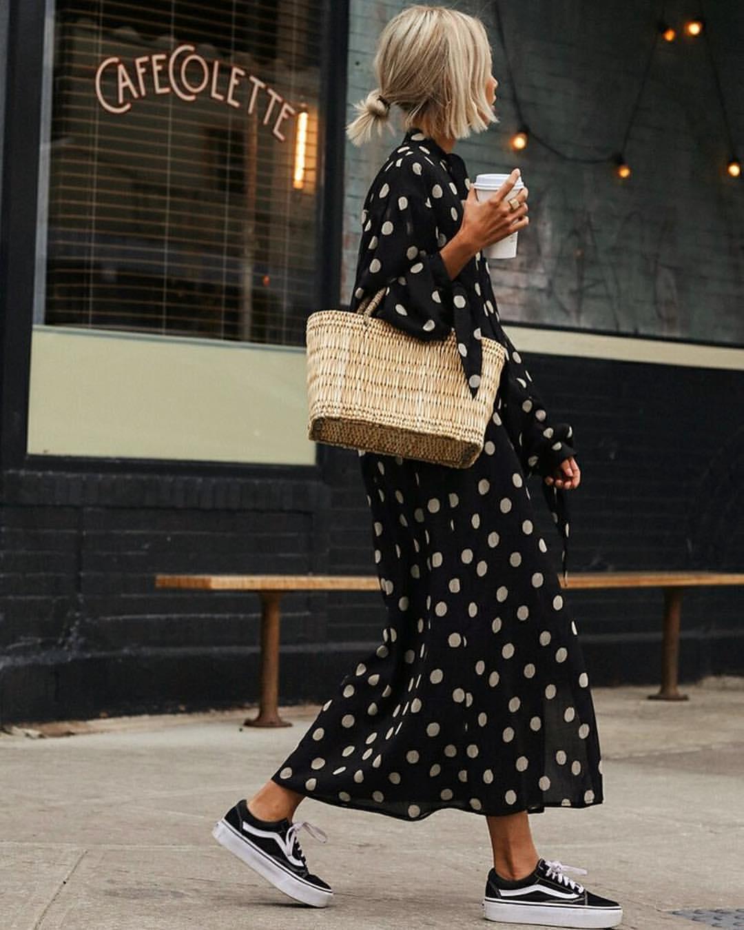 платье с кедами фото 14