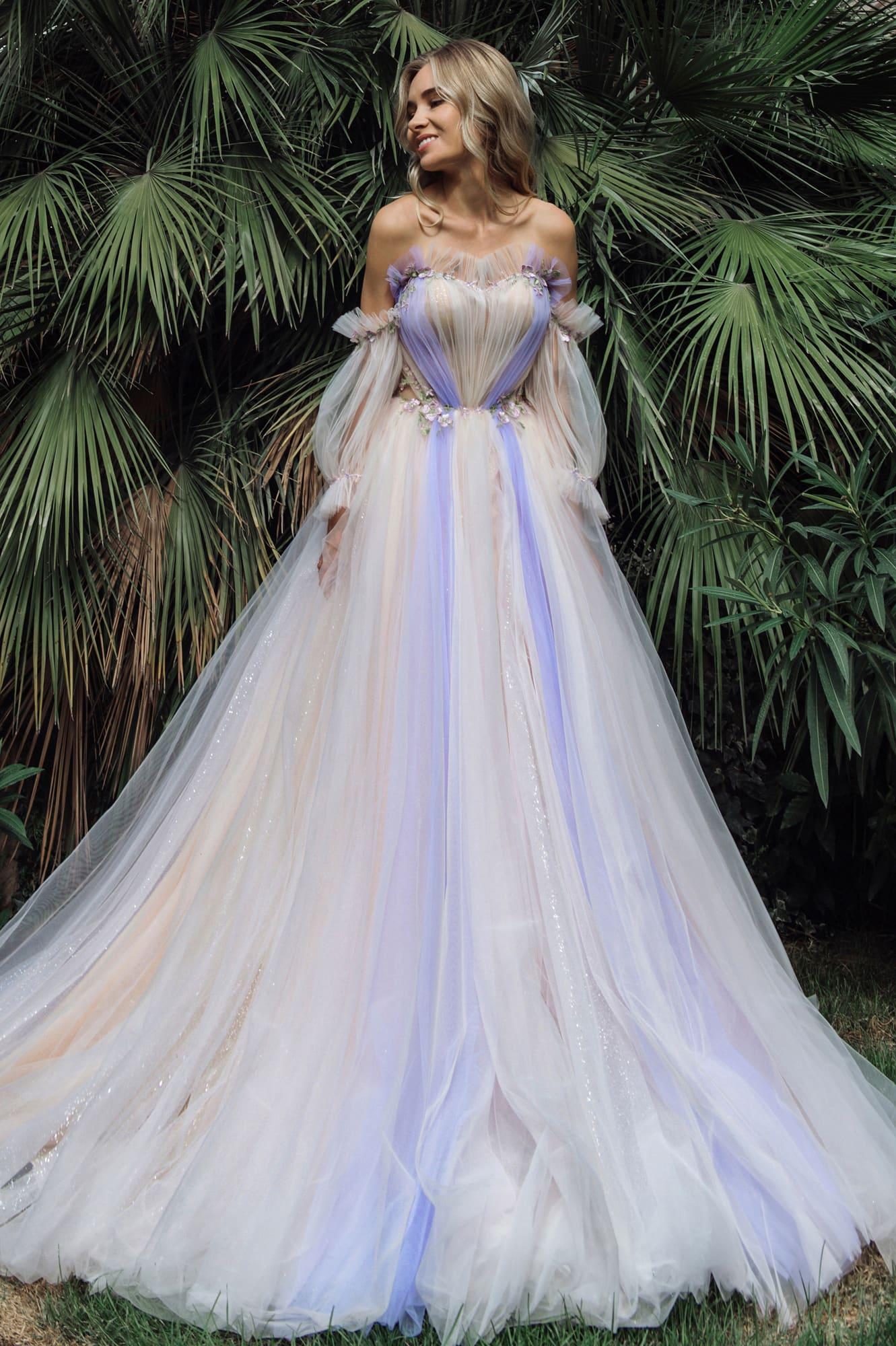 пышные свадебные платья фото 44