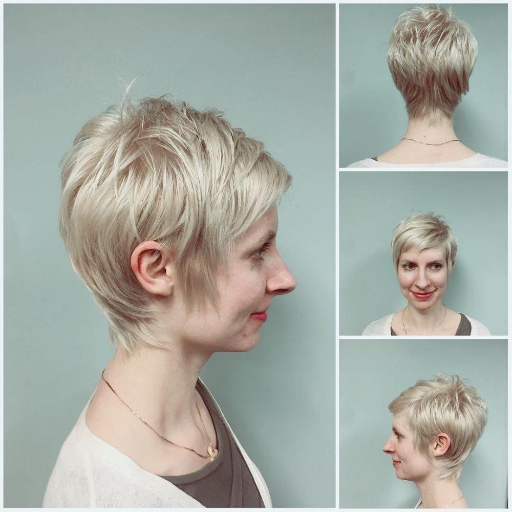 стрижки для женщин с тонкими волосами фото 3
