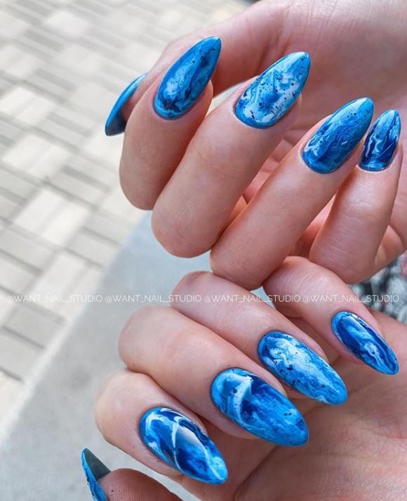 Море на ногтях фото 6