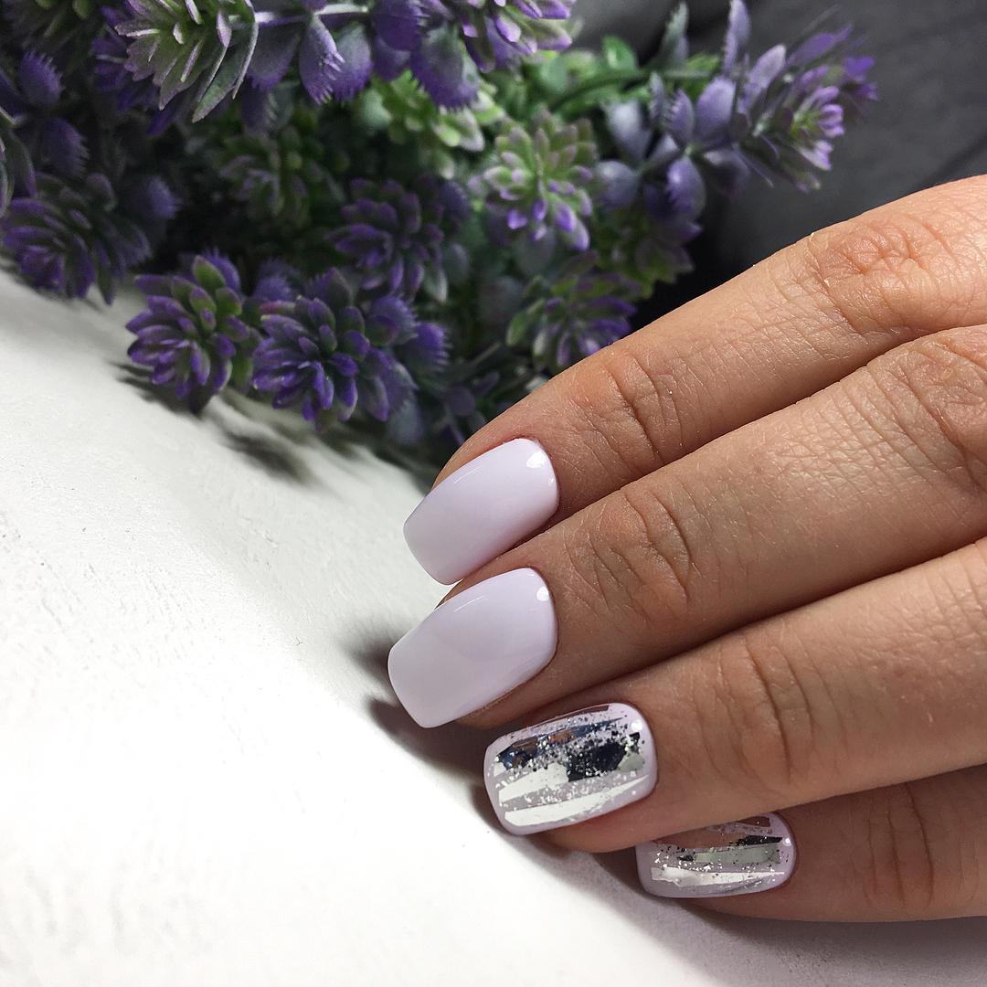 Маникюр на короткие ногти осень фото 10
