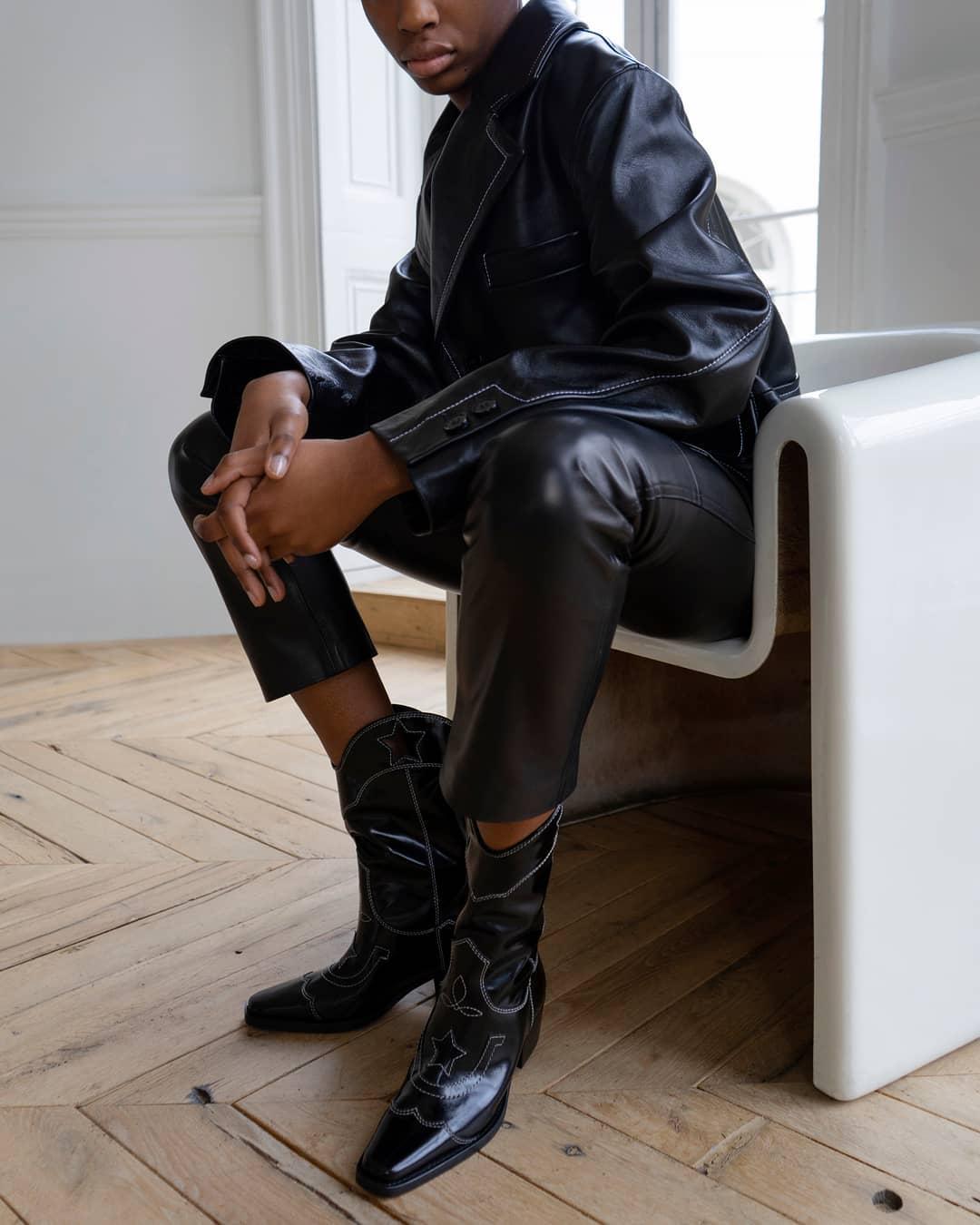 Женские ботинки фото 1