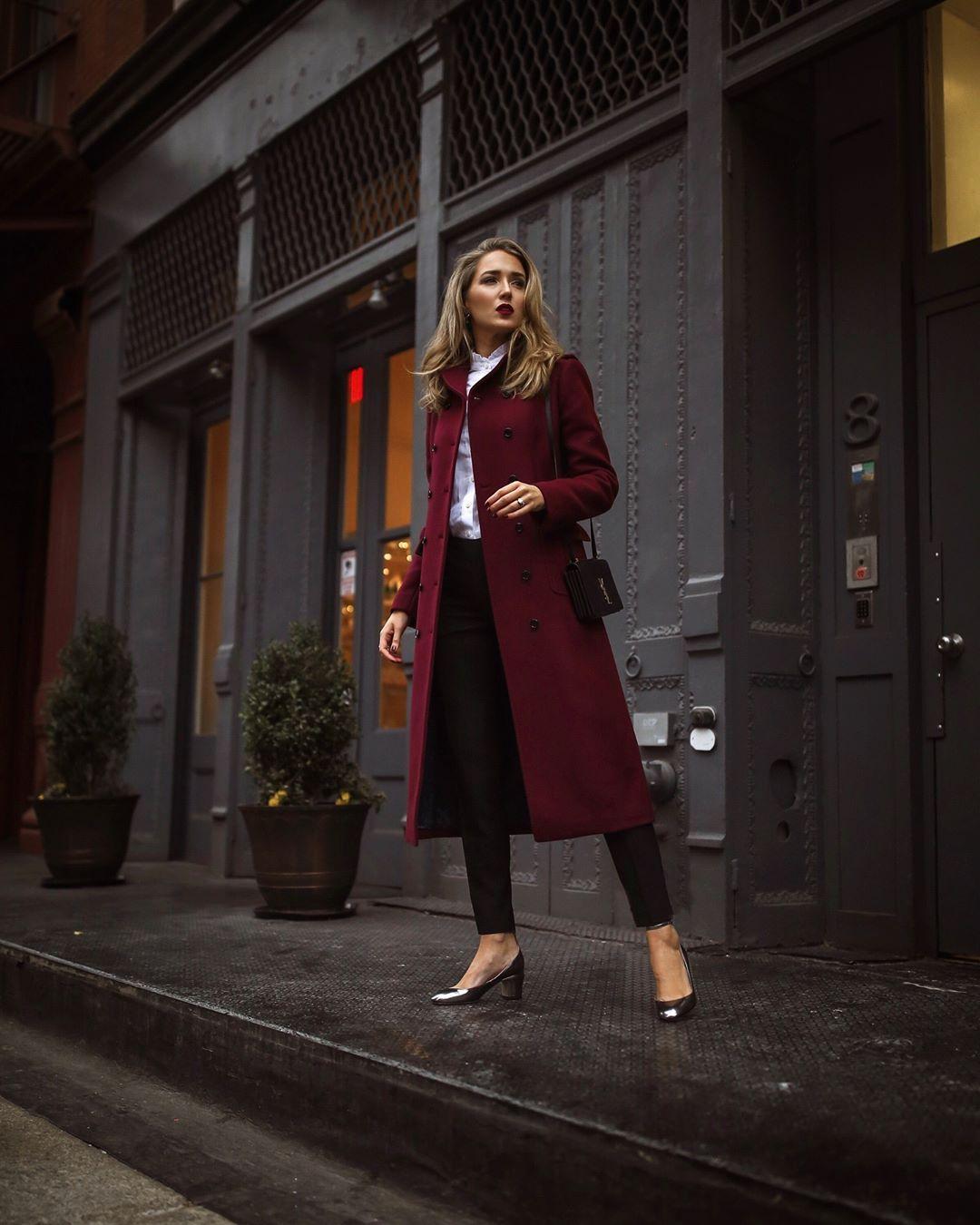 модные образы для деловых женщин осени 2019 фото 14