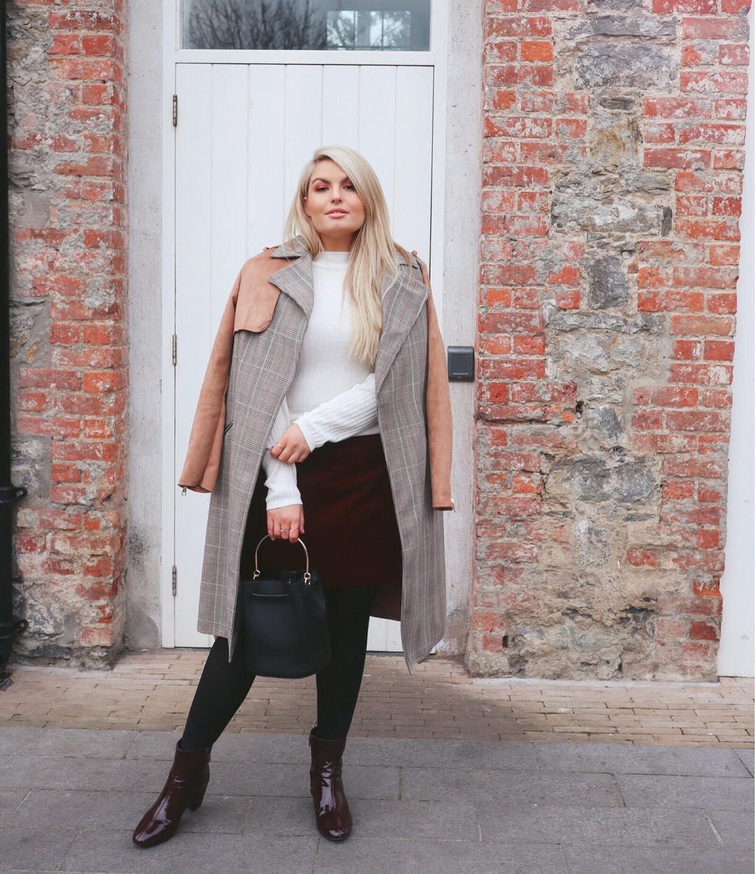 Модные тенденции осени 2019 для полных женщин фото 18